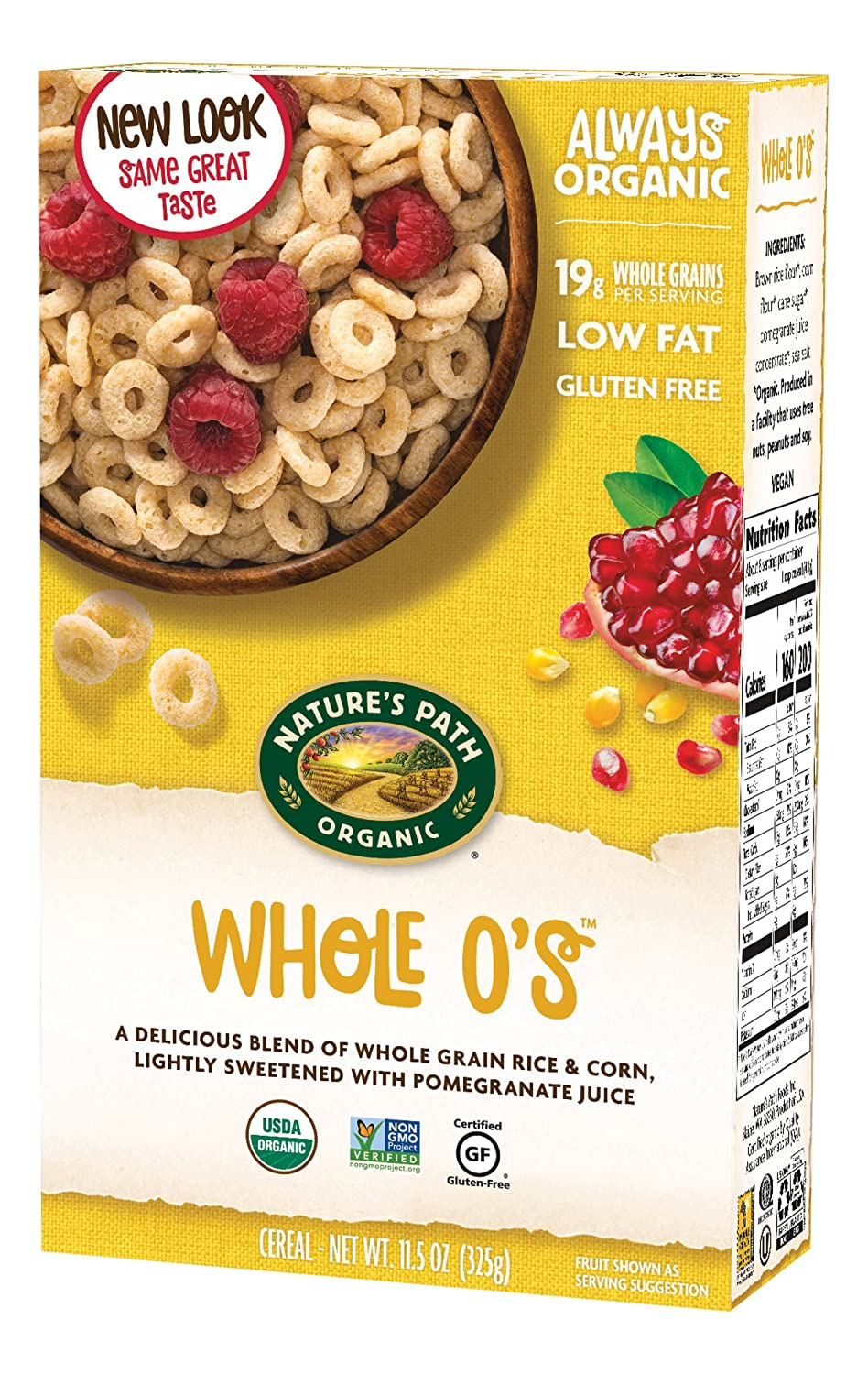Amazon natures path organic gluten free cereal whole os amazon natures path organic gluten free cereal whole os 115 ounce box pack of 6 cold breakfast cereals ccuart Choice Image