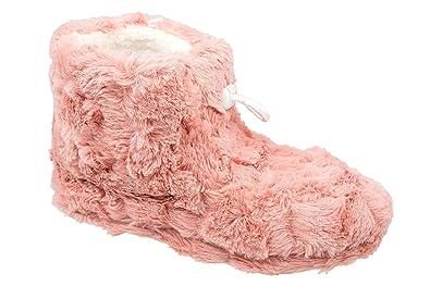GIBRA® Damenpantoffeln mit weißer Sohle, gefüttert, pink, Gr. 36