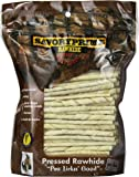 Savory Prime 100 Count 5 inch White Rawhide Twist Sticks  017