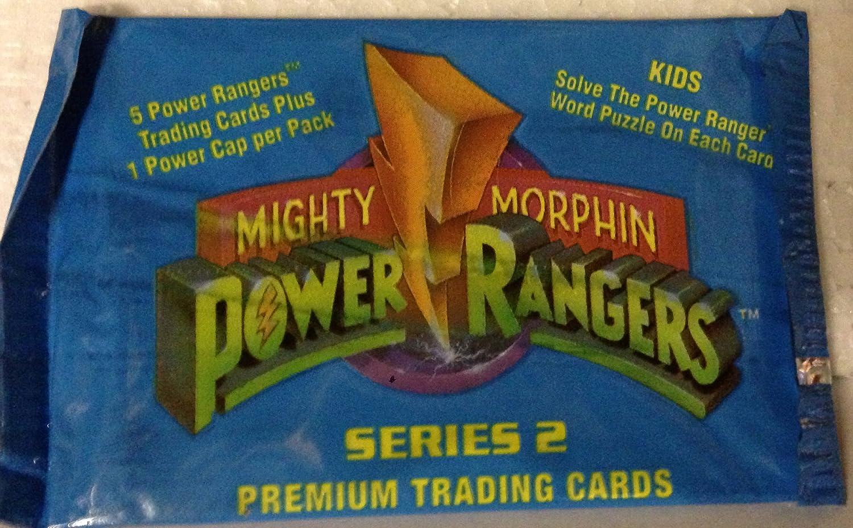 Single Packet Mighty Morphin Power Rangers New Season 1994 Trading Cards