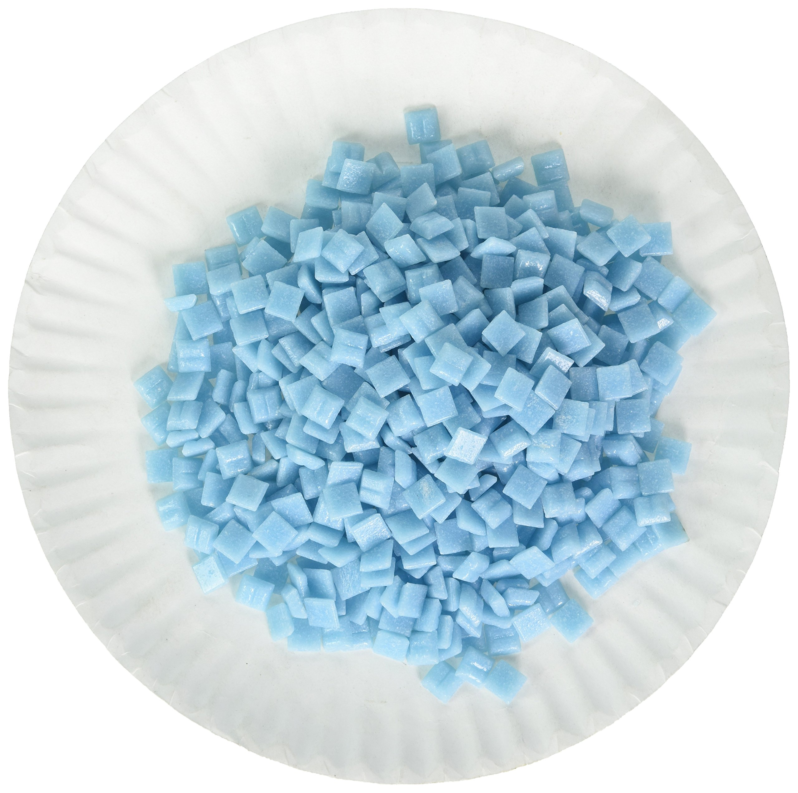 Mosaic Mercantile Mini Glass Tile, Popsicle, 1-Pound