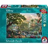 Schmidt Spiele 59473 - Thomas Kinkade, Disney Dschungelbuch, Puzzle, 1000 teile