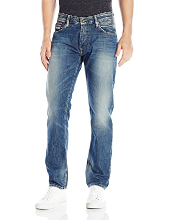 95bd4c932 Tommy Hilfiger Denim Men's Jeans Original Ryan Straight Fit Jean, Penrose  Blue, 28x32