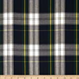 Kaufman House of Wales Plaid Blue Fabric By The Yard