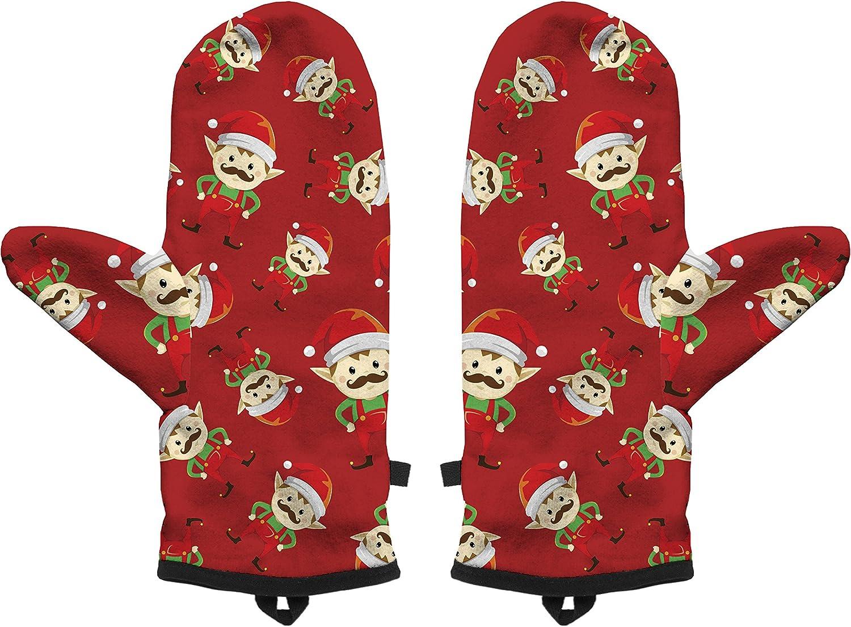 Fringoo Winter Mitten Warm Gloves Mens Womens Boys Girls Cosy Windproof Funny Funky Christmas Gift Present Pug Cat