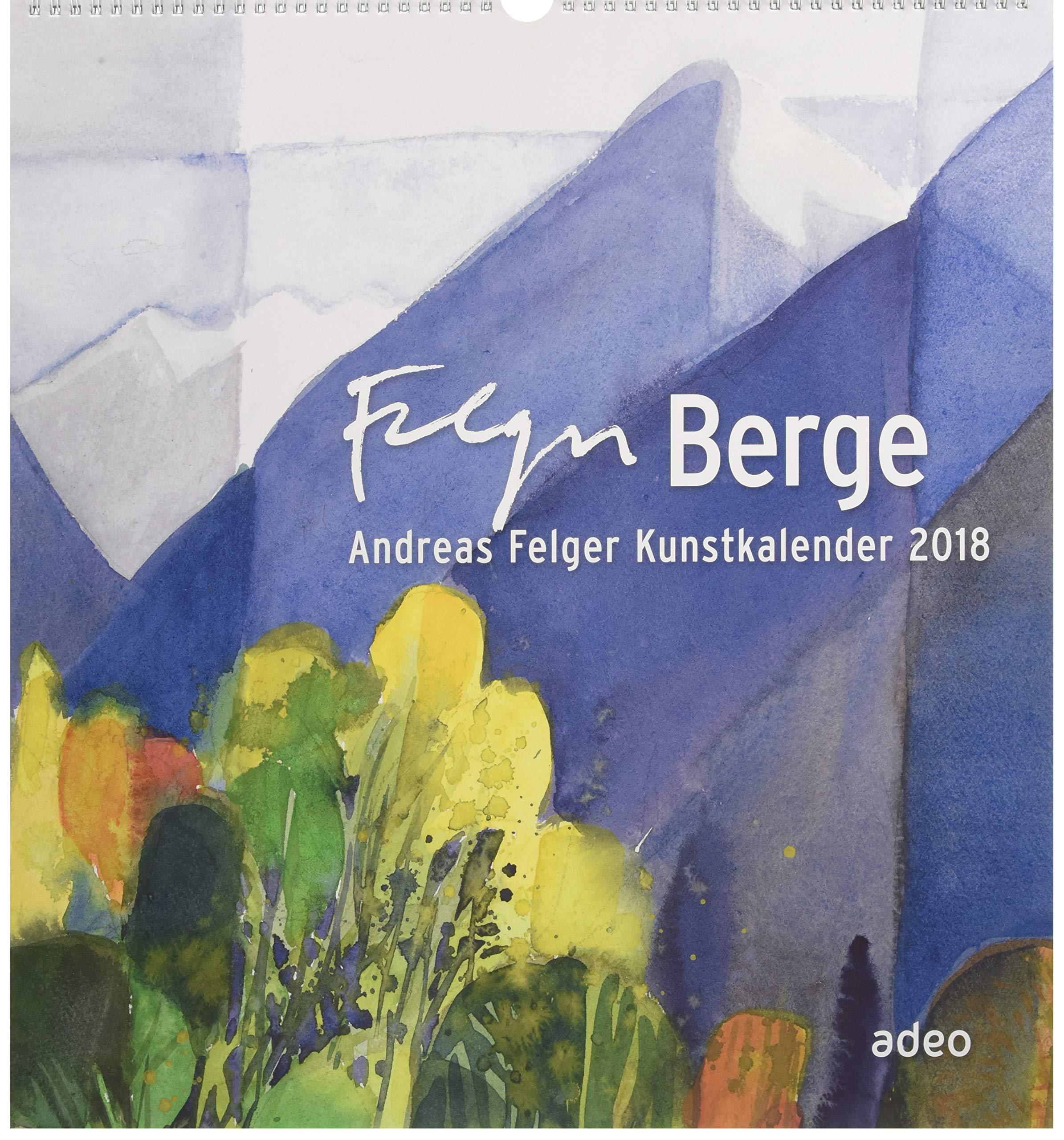 Berge 2018 - Wandkalender