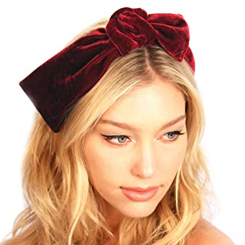 Amazon.com   Velvet Knot Headband   Beauty cc8b70fff7a