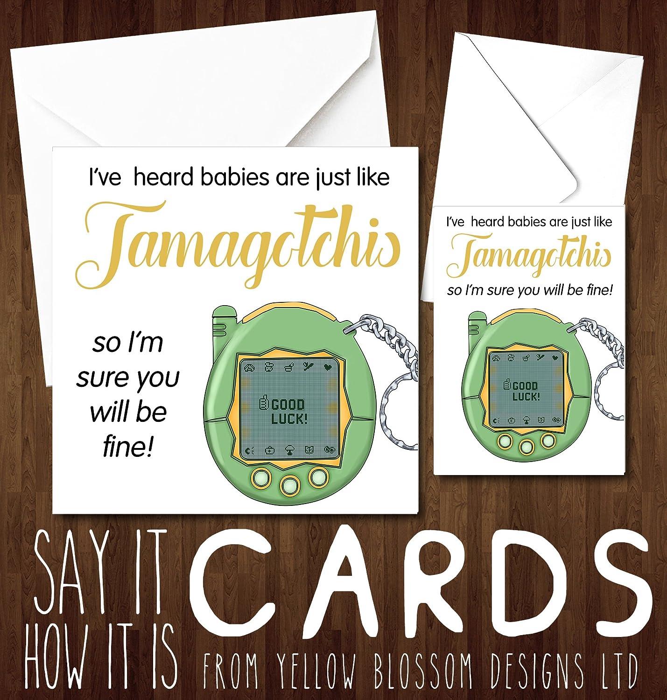Tamagatchi Baby Card