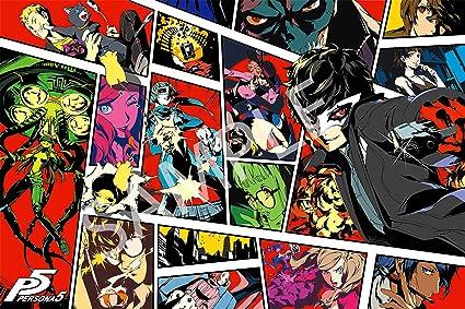 Amazon com: Best Print Store - Persona 5, Cover Art Poster