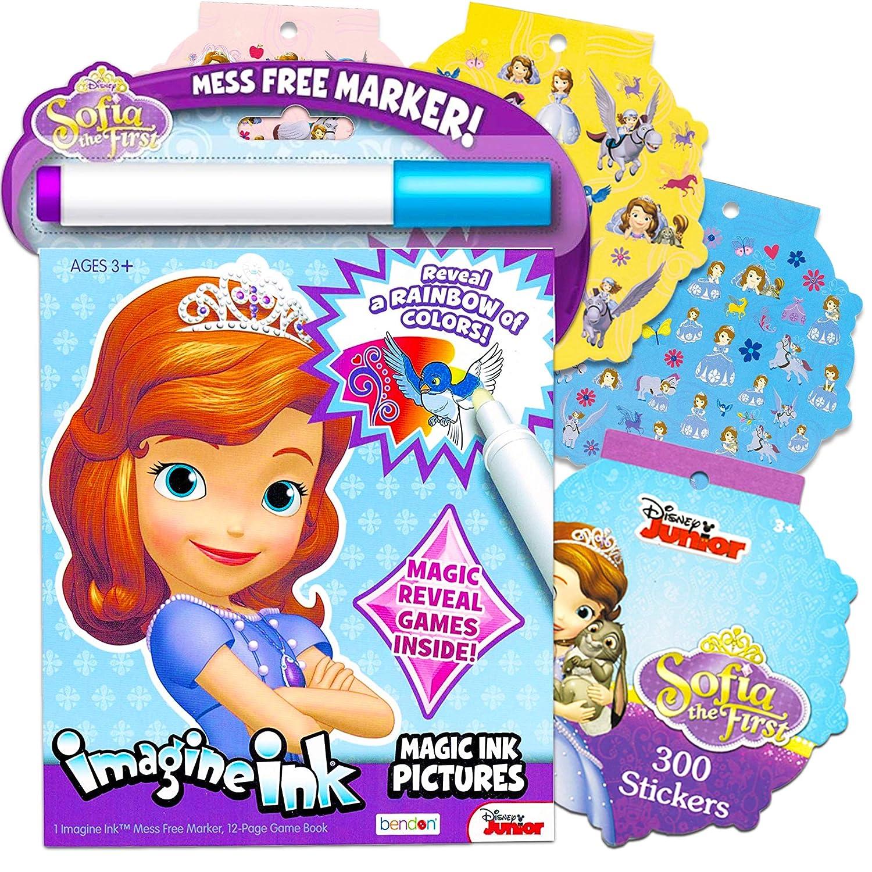 Disney Sofia the First Imagine Ink Book by Disney: Amazon.es ...