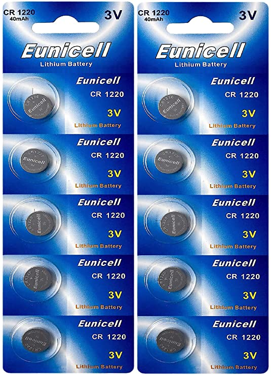 10 x CR1220 marque eunicell pile bouton lithium 3 v eunicell distribution  allemagne  Amazon.fr  High-tech 3c68c146db58