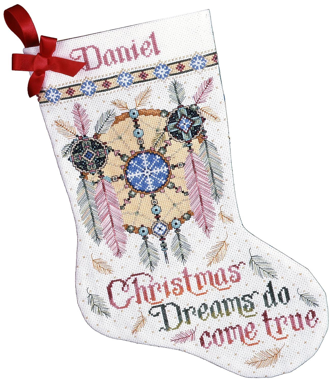 Dreamcatcher Design Works Counted Cross Stitch kit Stocking