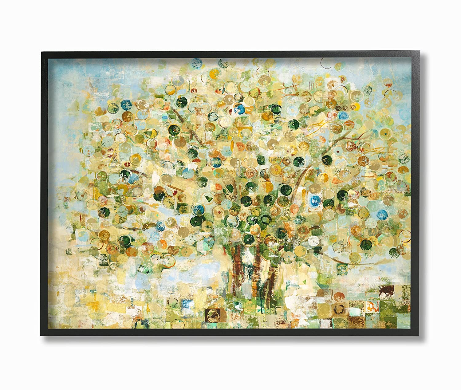 Amazon.com: Stupell Home Décor Abstract Apple Tree Oversized ...