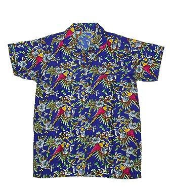 a8ad59baa MENS HAWAIIAN SHIRT STAG BEACH HAWAII ALOHA PARTY SUMMER HOLIDAY FANCY BEACH  PALM (XL,