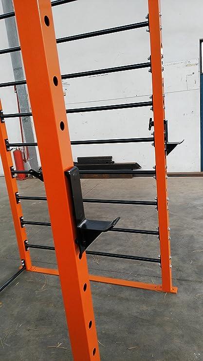Jaula - estructura - espaldera - sentadillas - crossfit - gimnasia ...