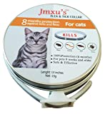Pet Flea Collar, 8 Month Protection, for Cat and
