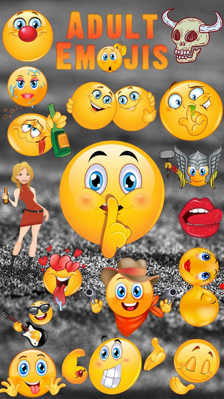 Adult Emojis - Dirty Emojis APP, Flirty Icons and