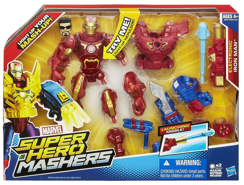 Amazon.com  Marvel Super Hero Mashers Electronic Iron Man Figure  Toys    Games ac804c6ed7