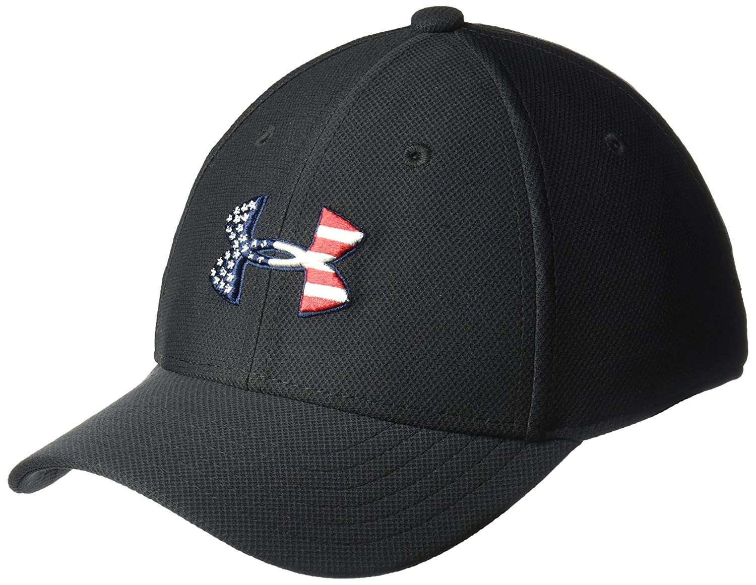 low priced f94f7 4b2bc Amazon.com  Under Armour Boys  Freedom Blitzing Cap, Black  Red, Youth   Clothing