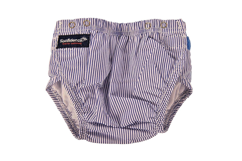 Konfidence Swim Nappy Stripes - White / Blue BabyCentre AKKF0030001