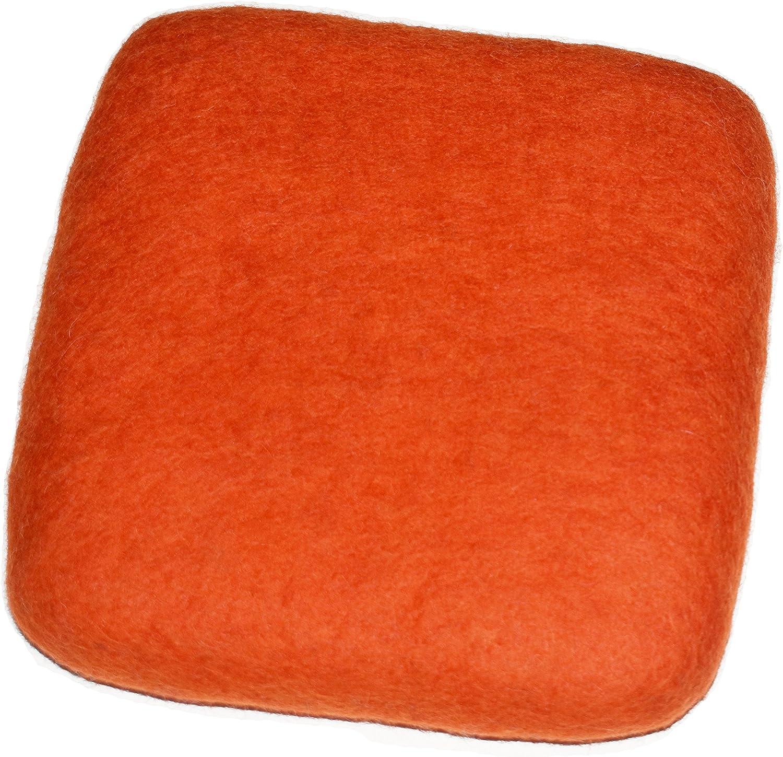 100/% Woolen Needle Fetling Mat Eco-Friendly Natural Wool Needle Felting 6 x 6, Navy Blue