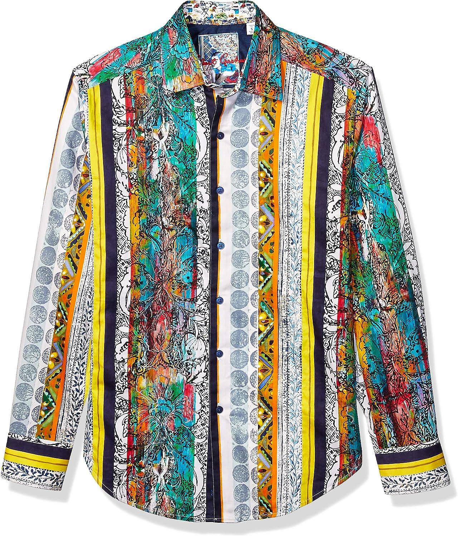 Robert Graham Mens S//S Woven Shirt