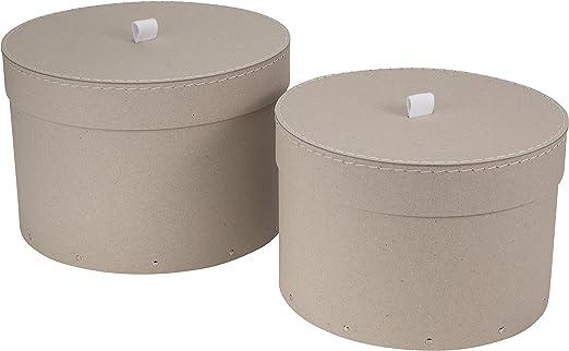 Caja para sombreros grande Blondie 29*20cm: Amazon.es: Hogar