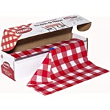 Neatiffy Disposable Plastic Table Cloth Roll   54 in x 108 Ft Waterproof Tablecloth   Table Cover for Rectangle, Square…