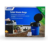 $23 » Camco Toilet Waste Durable Double Design is Leak-Proof, Inner Bag Gels Any Liquid, for…