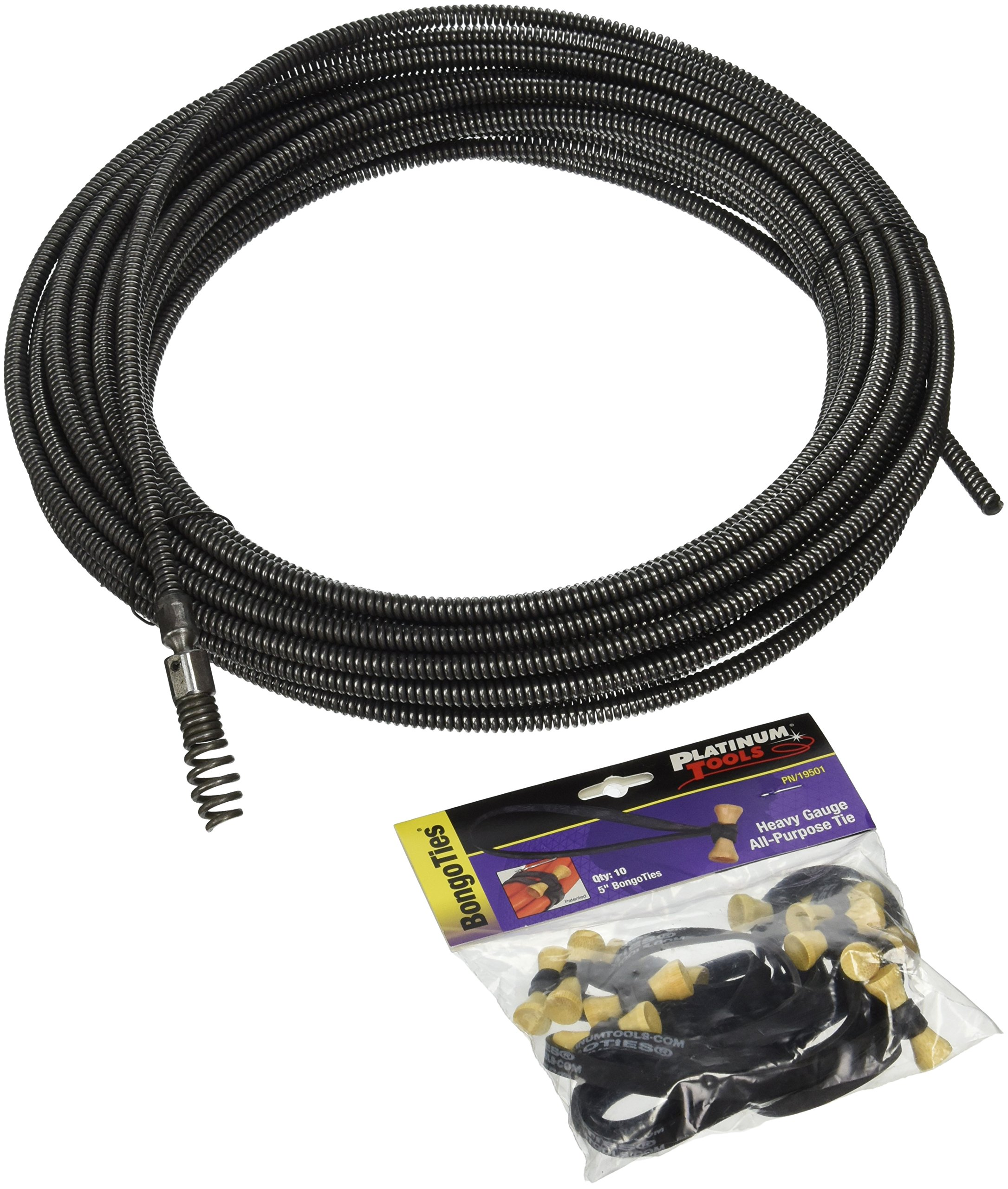 Ridgid 89405 5/16-Inch x 50-Feet C-22 Cable with Drop Head Auger by Ridgid