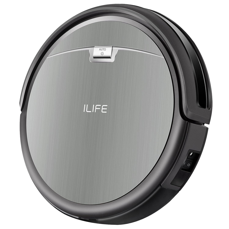 iLife A4s - Robot aspirador / 76 mm de altura / para todos los suelos / más de 2 horas de autonomía / depósito de polvo 450 ml / robot aspirador silencioso ...