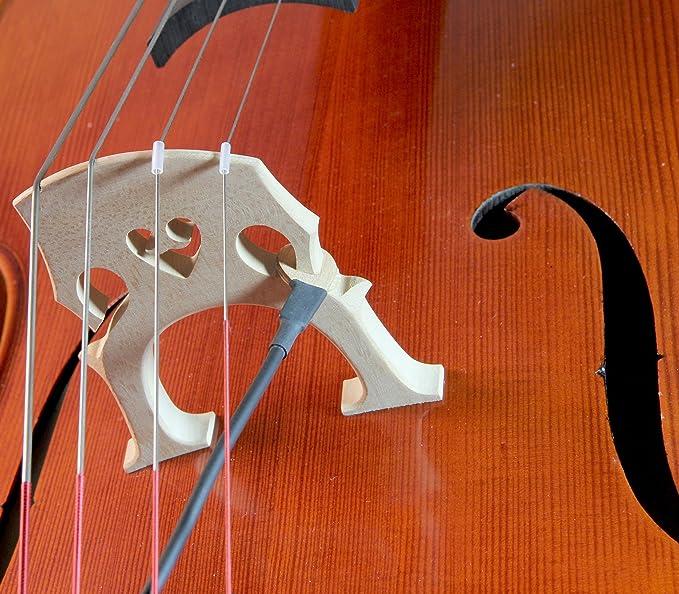 Pastillas KNA VC-1 portátiles, piezo, para violonchelo: Amazon.es: Instrumentos musicales