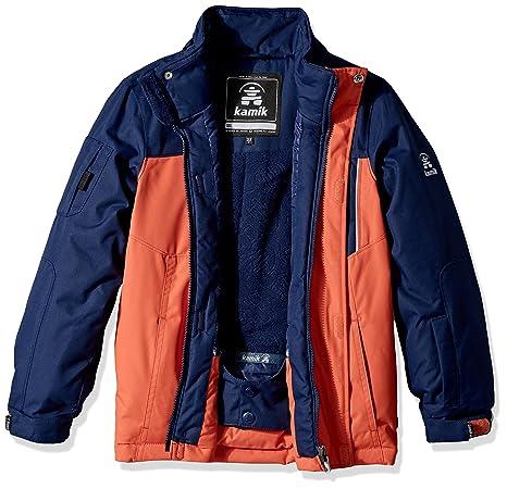 0c402ab07ec7 Amazon.com   Kamik Winter Apparel Boys Vector Jacket   Clothing