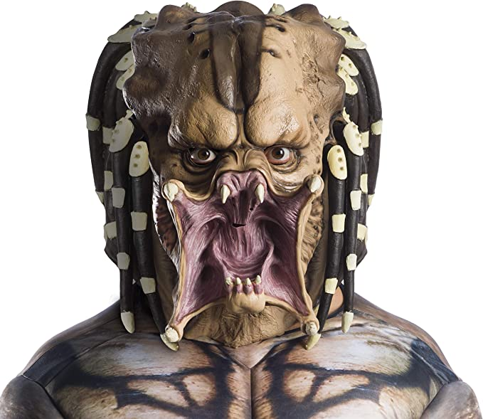 Predator Adult Overhead Latex Costume Mask: Amazon.es: Juguetes y ...
