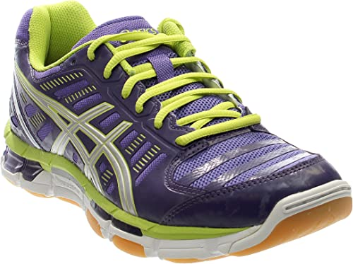 purple and green mizuno volleyball shoes amazon