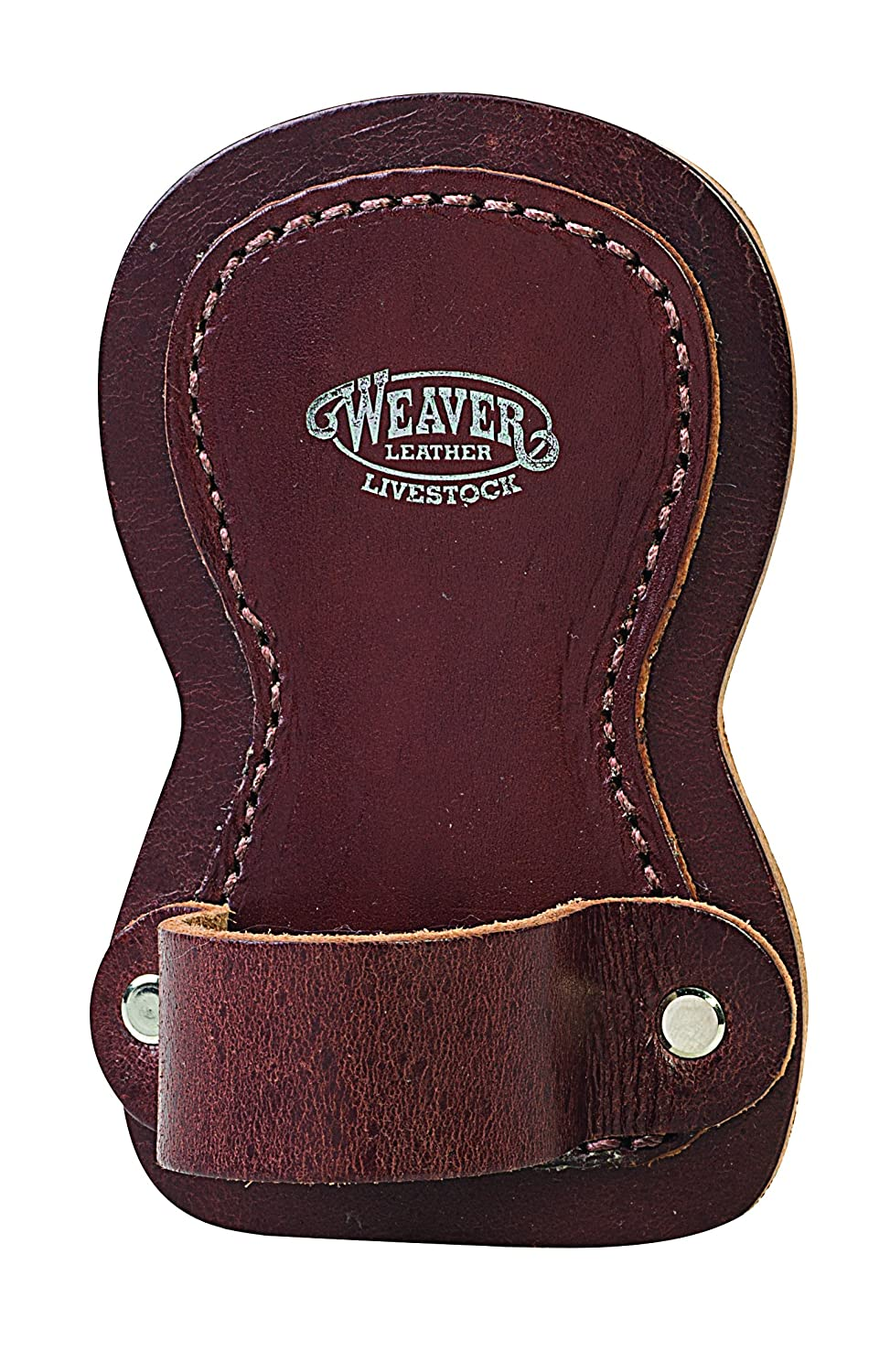 Weaver Leather Livestock Leather Show Comb Holder, Brown Weaver Leather Livestock Leather Show Comb Holder