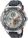 Armitron Sport Men's 20/5155GRY Analog-Digital Chronograph Grey Resin Strap Watch