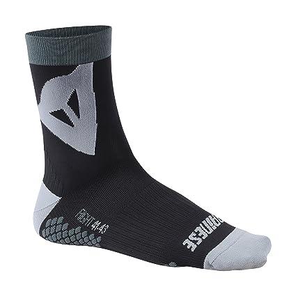 Dainese Riding Socks Mid Calcetines de MTB, Hombre, Negro/Gris, M