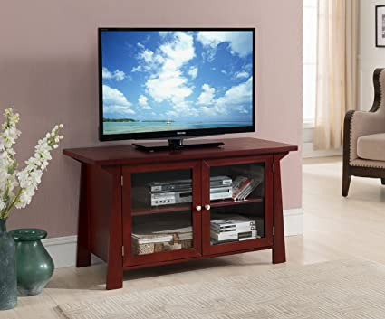 Amazon Kings Brand Furniture Tv Stand Storage Console With