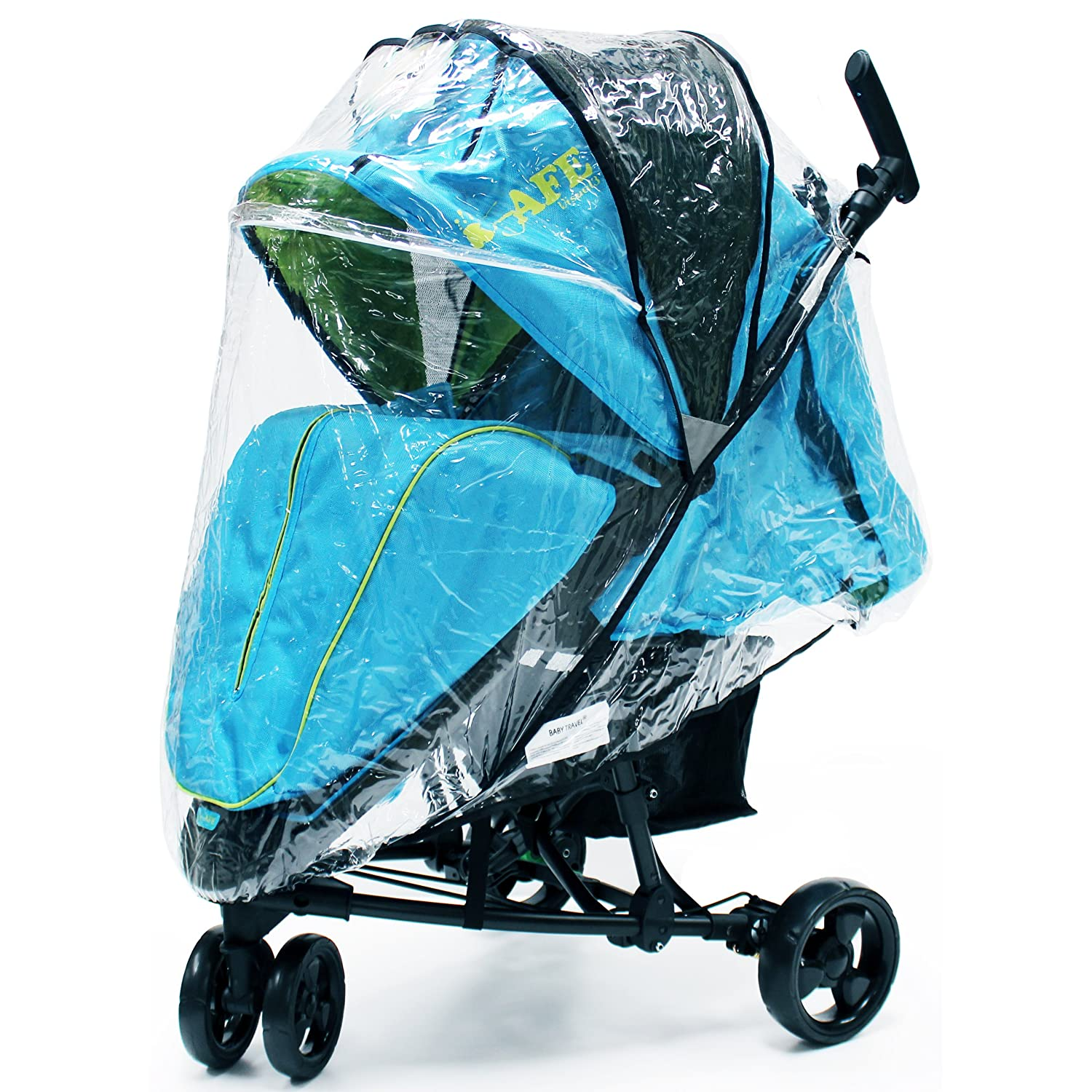 iSafe Visual 3 Rain Cover Weather Shield Baby Travel