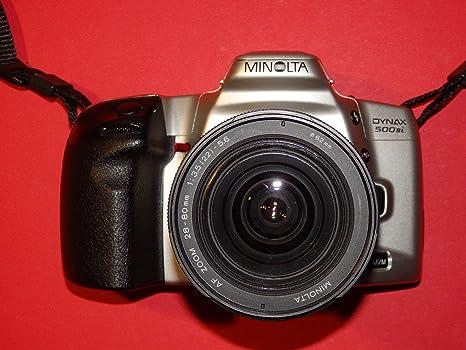 Minolta Dynax 500si en plata - SLR Cámara - Cámara réflex ...