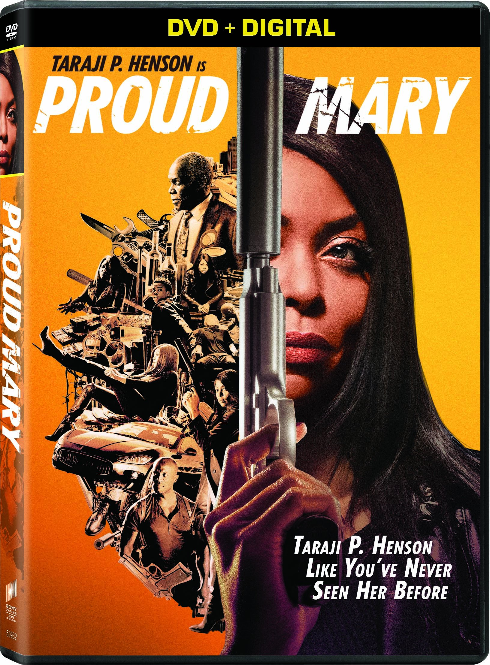 DVD : Proud Mary (Widescreen, Dolby, AC-3, Digital Copy, Subtitled)