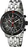 Tissot Mens Quartz Watch, Analog Display and Stainless Steel Strap T067.417.21.051.00
