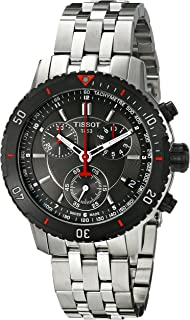 Tissot Mens T067.417.21.051.00 T-Sport Textured Dial Stainless Steel Watch