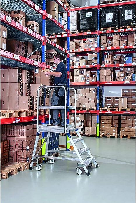 Zarges base de escaleras, por un lado 6 niveles Z600: Amazon.es: Bricolaje y herramientas