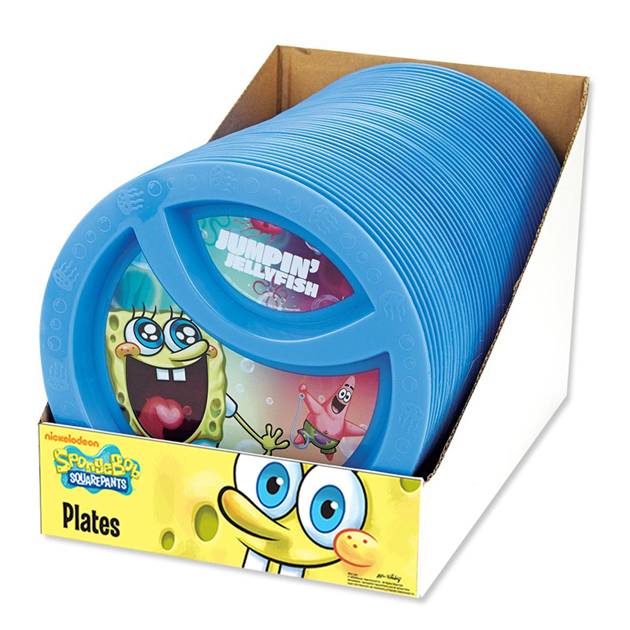 Amazon Com Nickelodeon 6 Piece Spongebob Fork And Spoon
