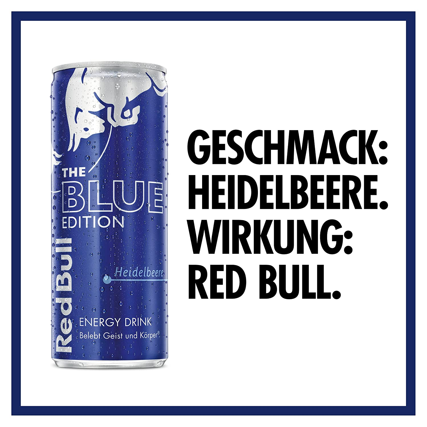 Red Bull Energy Drink Blue Edition mit Heidelbeer Geschmack 12x250ml