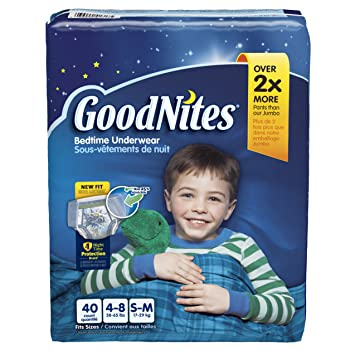 5f668a9381 Amazon.com  GoodNites Bedtime Pants for Boys