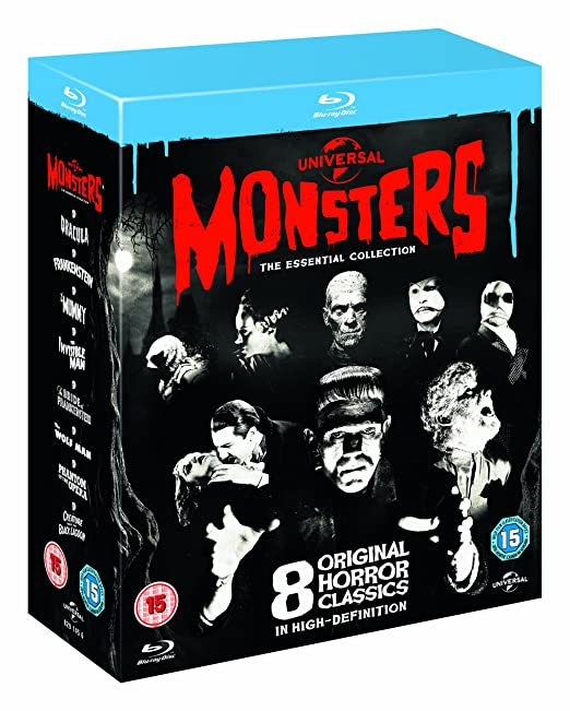 Universal Classic Monsters: The Essential Collection Region Free by Amazon