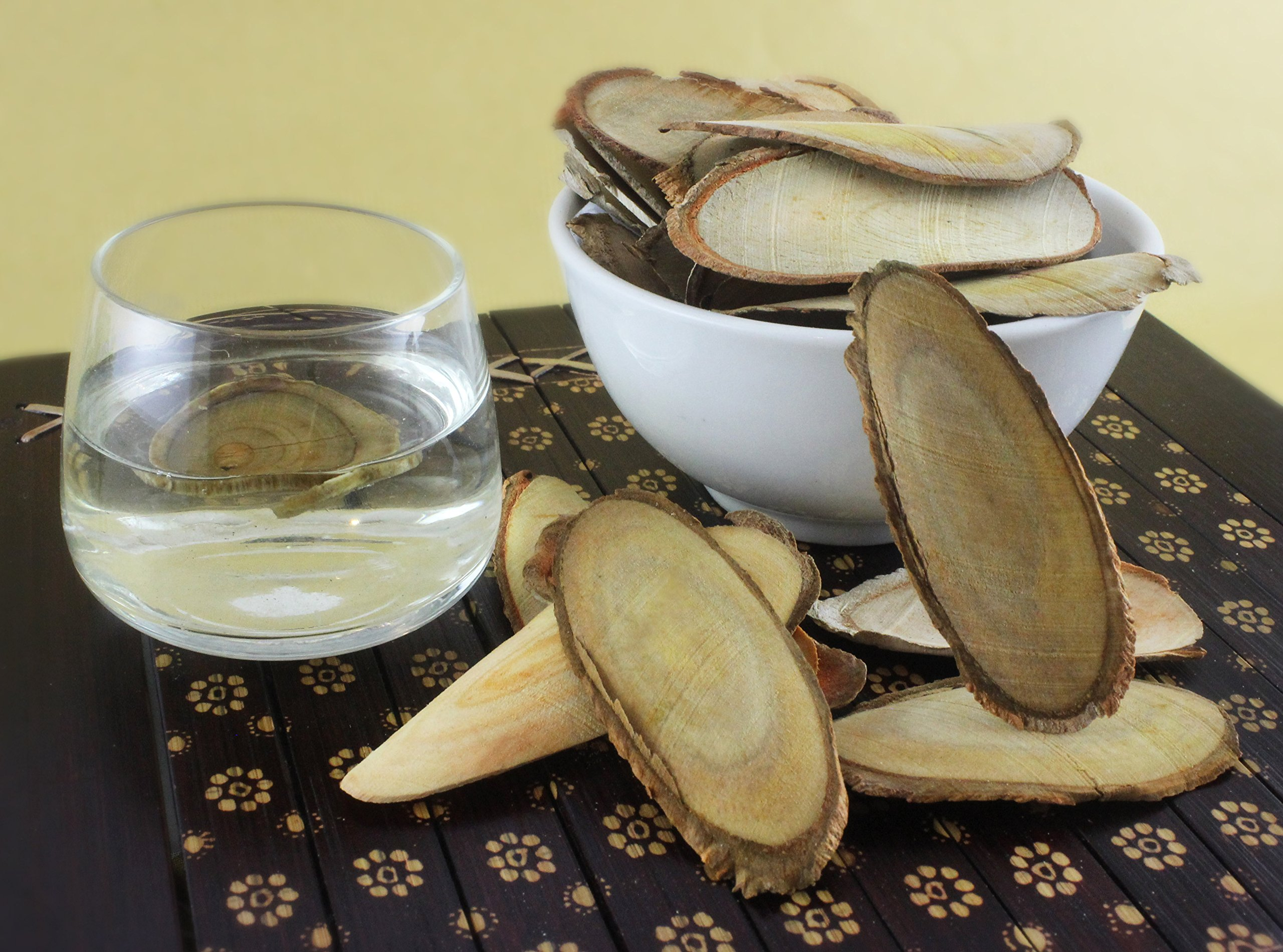 Natural Herbal Sex Booster, 100% Pure Red Tongkat Ali [Stema Tuberosa] Root Slices (100g) by Rahsia Herbal (Image #1)